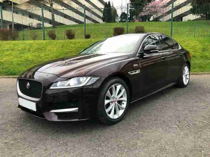 Jaguar XF 2.0TD. Jaguar car from United Kingdom