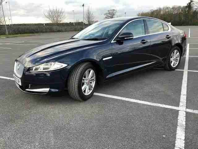 Jaguar XF 2.2TD. Jaguar car from United Kingdom