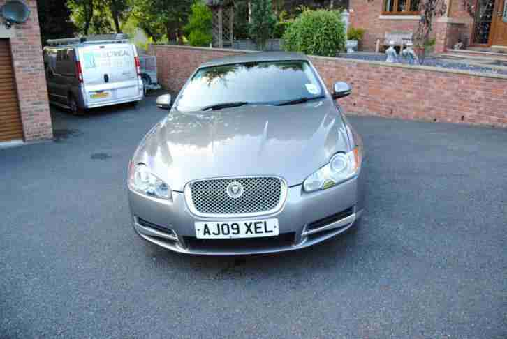 Jaguar XF 3.0TD. Jaguar car from United Kingdom