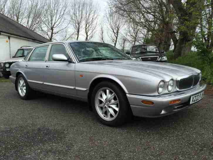 Jaguar XJ Series. Jaguar car from United Kingdom