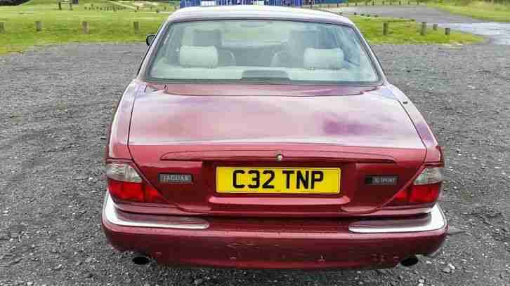 Jaguar XJ sport 3.2 v8 106k with full History Sold With Cherished Number