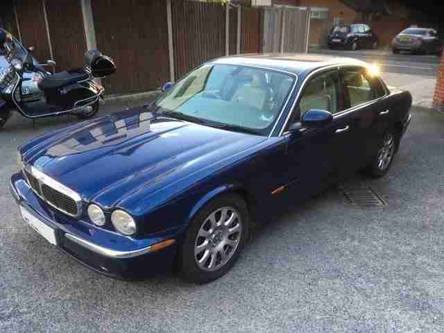 Jaguar XJ6 V6. Jaguar car from United Kingdom
