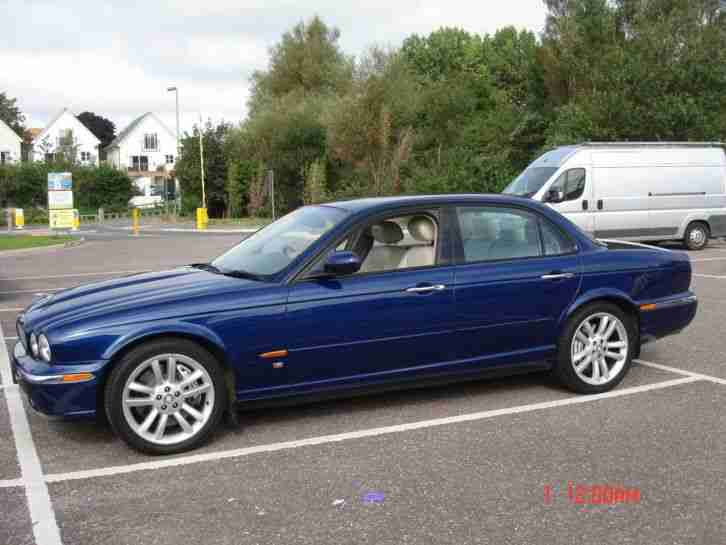 Jaguar XJR V8. Jaguar car from United Kingdom