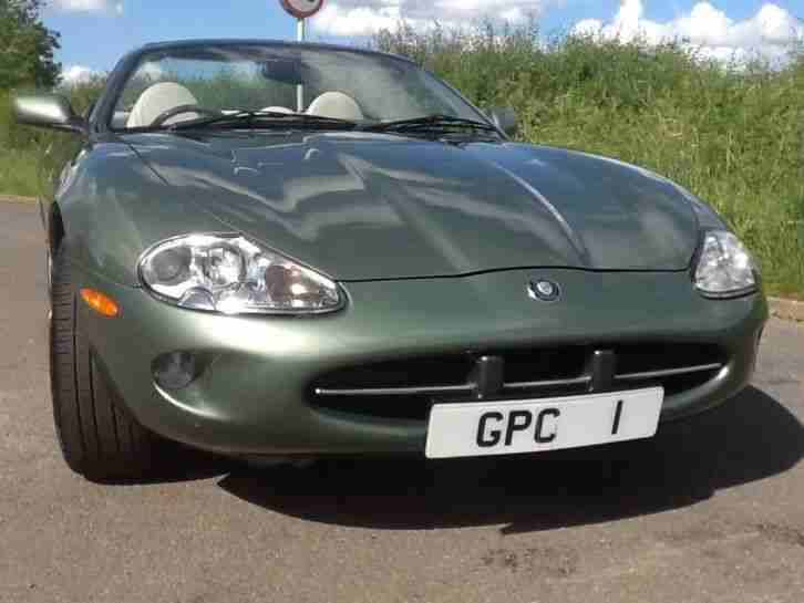 "Jaguar XK8 4.0 auto Convertible ""1 OWNER FROM NEW"" RARE ALPINE GREEN """