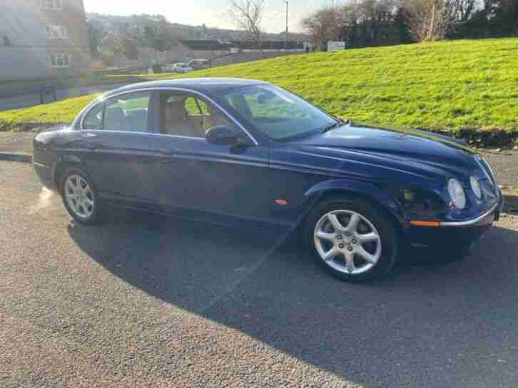 Jaguar s type 2.7 v6 twin turbo tdi rare manual transmission no reserve