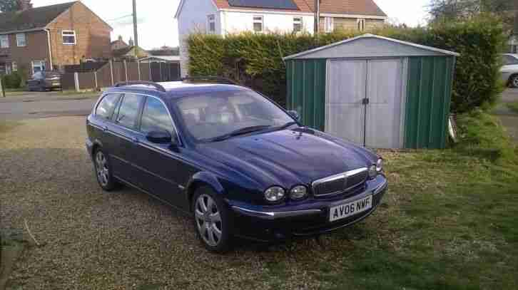 Jaguar x type car 2006