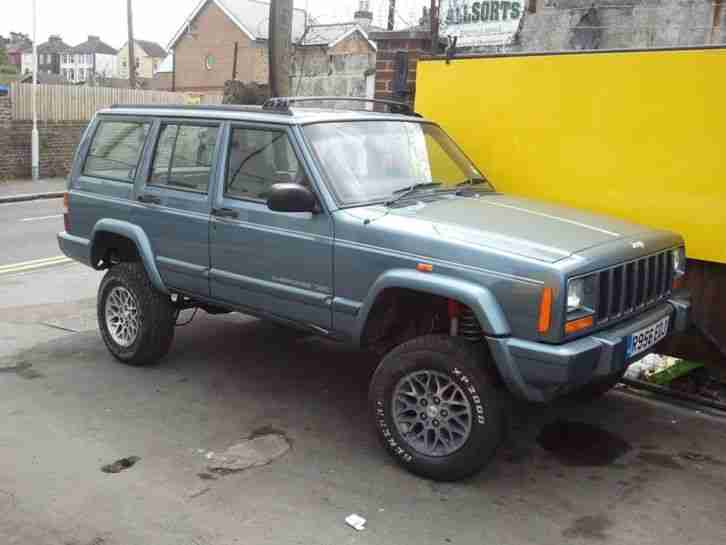 Jeep Cherokee 2,5 diesel 6.5 Inchs Suspension Kit