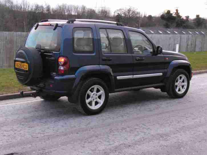 Jeep Cherokee 2.8 CRD Limited, 4 Wheel Drive, Diesel, 2005, FSH, Blue