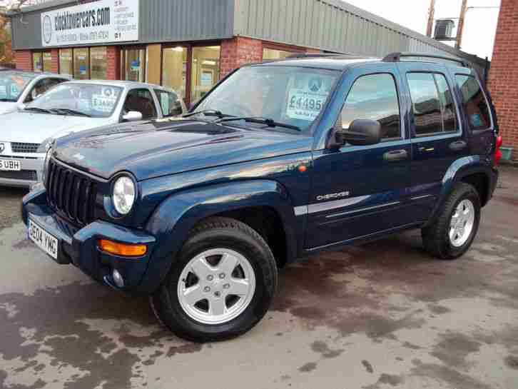 jeep cherokee 2 8 crd auto limited car for sale. Black Bedroom Furniture Sets. Home Design Ideas