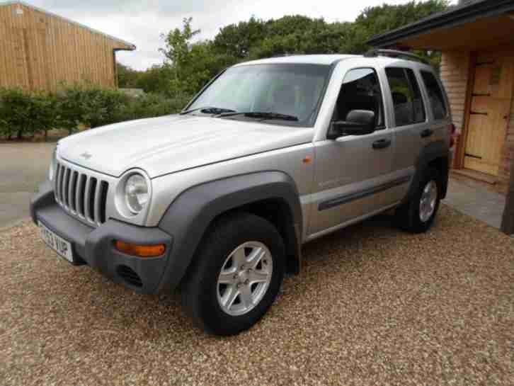 jeep cherokee 2 8 crd auto sport diesel reg 2003 car for sale. Black Bedroom Furniture Sets. Home Design Ideas