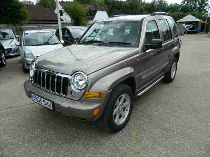 Jeep Cherokee 3.7 ( 201bhp ) 4X4 Auto Limited GREEN LOW MILES