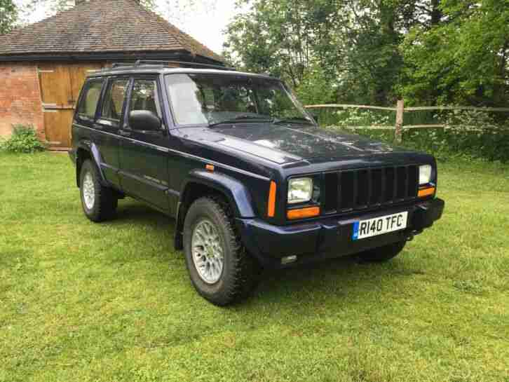 Jeep Cherokee 4.0. Jeep car from United Kingdom