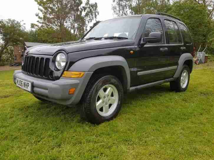 Jeep Cherokee CRD. Jeep car from United Kingdom