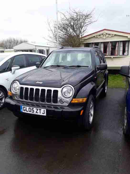 Jeep Cherokee Liberty. Jeep car from United Kingdom
