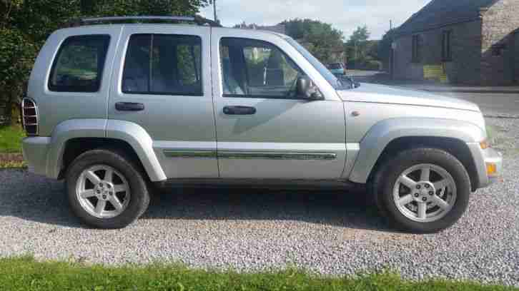 Jeep Cherokee Limited CRD 2.8TD Diesel 4X4 Silver