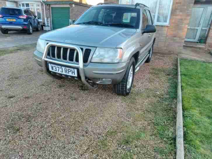 Jeep Cherokee v8 4.7 only 112k miles short mot a c electric leather seats chrome