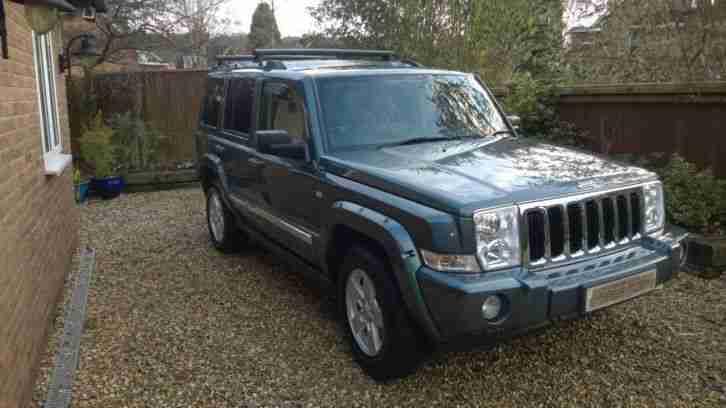 jeep commander limited crd automatic car for sale. Black Bedroom Furniture Sets. Home Design Ideas