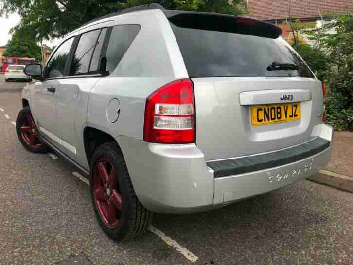 Jeep Compass 2.4 CVT Limited LONG MOT LOW MILEAGE 2 Keys Service History Leather