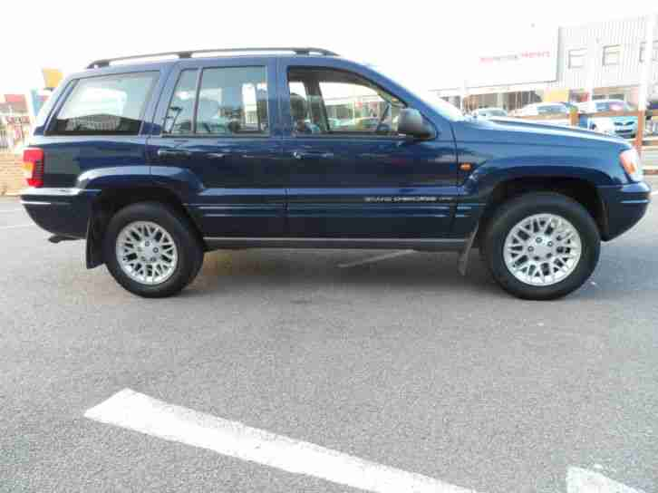 jeep grand cherokee 2 7 crd limited auto 02 plate mot may. Black Bedroom Furniture Sets. Home Design Ideas
