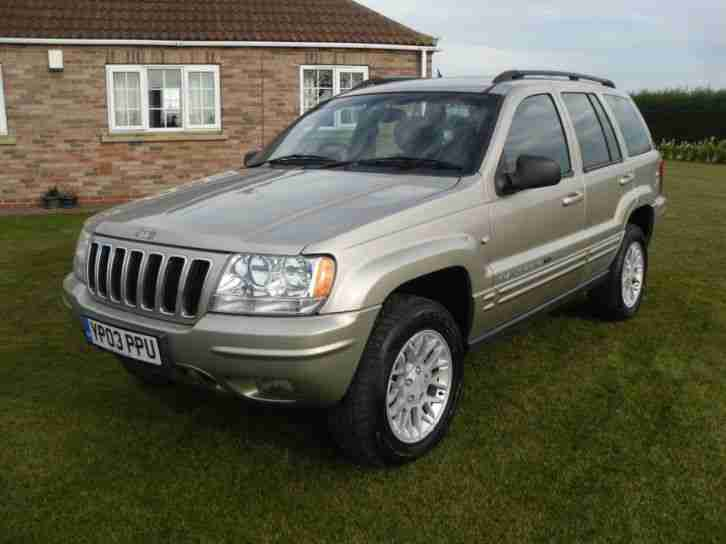 jeep grand cherokee 2 7 crd auto limited full service. Black Bedroom Furniture Sets. Home Design Ideas
