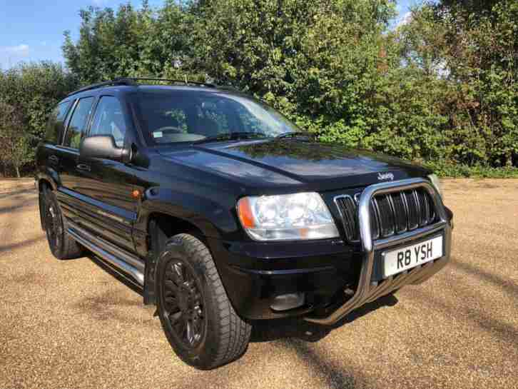 Jeep Grand Cherokee 2.7CRD ( 161bhp ) 4X4 Auto Limited