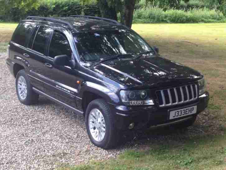 Jeep Grand Cherokee 2.7L Diesel Black - Spares or Repair