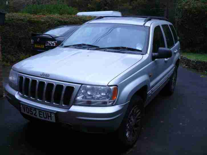 jeep grand cherokee 2003 2 7 crd spares or repair car for sale. Black Bedroom Furniture Sets. Home Design Ideas