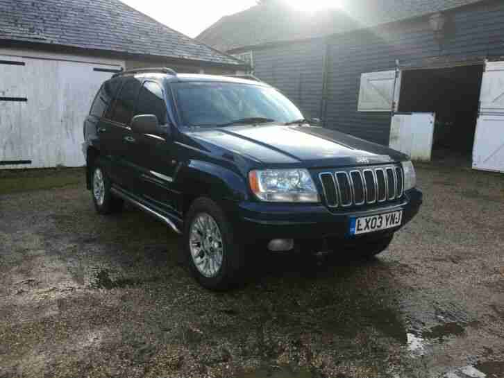 Jeep Grand Cherokee 2003 2.7 Diesel Auto Spares and Repair Project