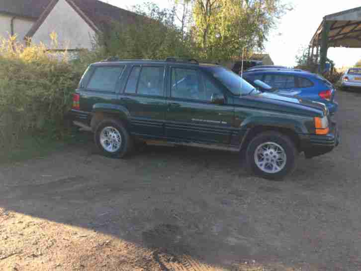 Jeep Grand Cherokee. Jeep car from United Kingdom