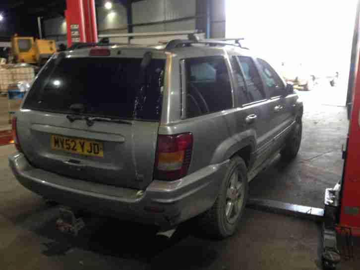 Jeep Grand Cherokee 4.7 V8 LPG Overland HO BREAKING FOR SPARES