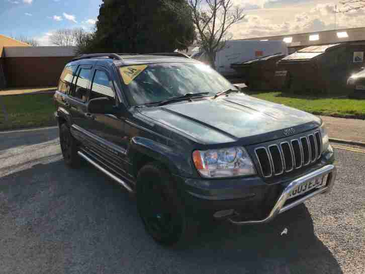 Jeep Grand Cherokee 4.7 V8 auto Limited 12mths MOT 3mth parts & labour warranty
