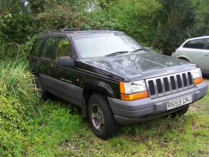 jeep grand cherokee laredo diesel 2 5 turbo r reg 1997 for spares and. Black Bedroom Furniture Sets. Home Design Ideas
