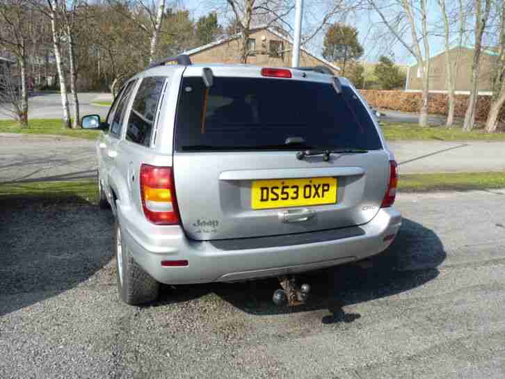 Jeep Grand Cherokee Ltd 2.7 CRD Spares or repair