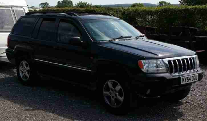 Jeep Grand Cherokee Platinum 2.7 crd 2004 Re Mapped 220bhp Repair or Spares