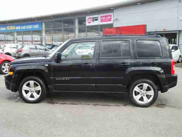 Jeep Patriot 2.2 CRD Sport Plus 5dr