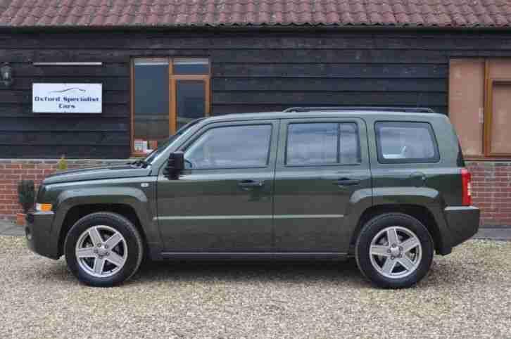 jeep patriot sport crd 5dr diesel manual 2007 07 car for sale. Black Bedroom Furniture Sets. Home Design Ideas