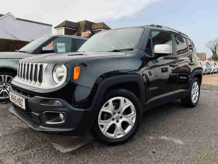 Jeep Renegade 1.4 Limited Automatic PETROL AUTOMATIC 2015 15