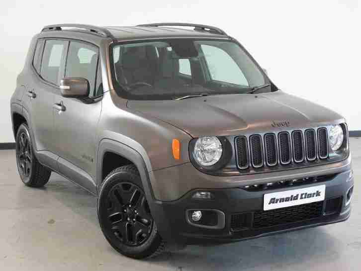 Jeep Renegade 1.6. Jeep car from United Kingdom