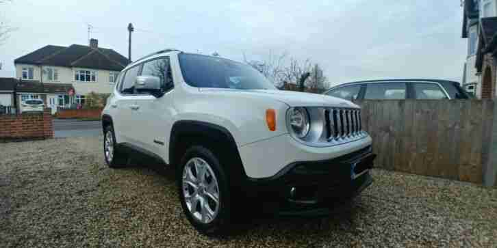 Renegade Limited White SUV (66)