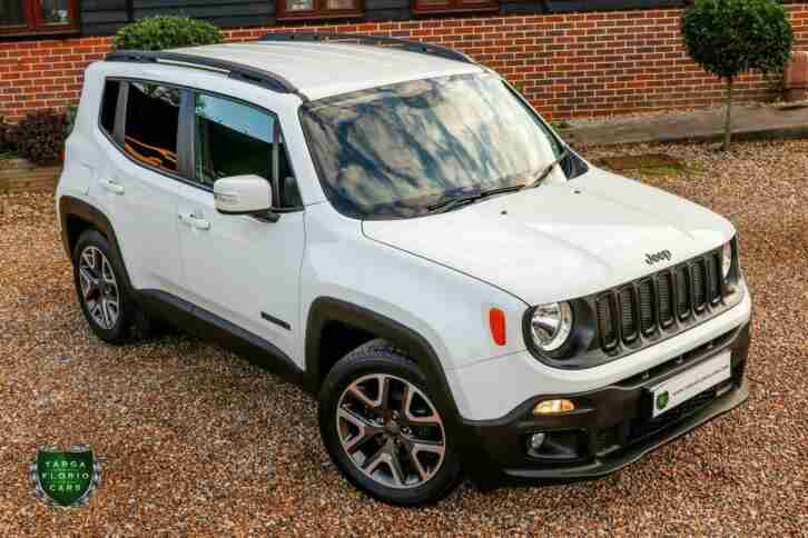 Jeep Renegade NIGHT. Jeep car from United Kingdom