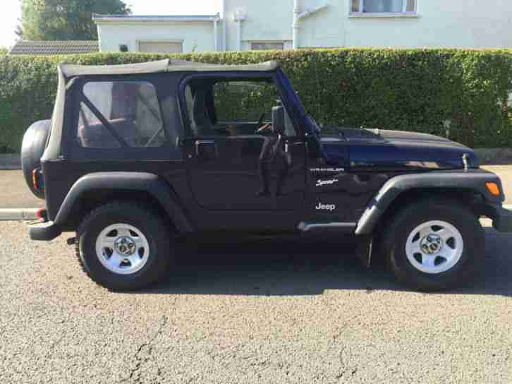 Jeep Wrangler 2.5 Sport 1998 Only 84000 Miles Great condition throughout