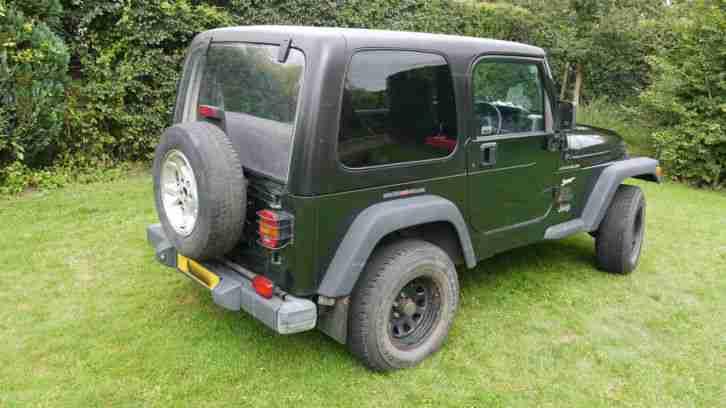 Jeep Wrangler TJ 2.5 Sport Hard Top & Soft & Top. car for sale