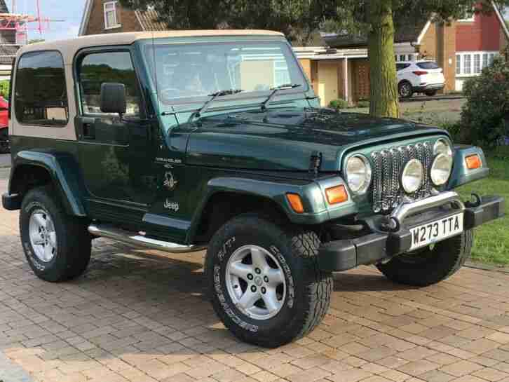 Wrangler TJ 2000 Sahara 4.0L Manual