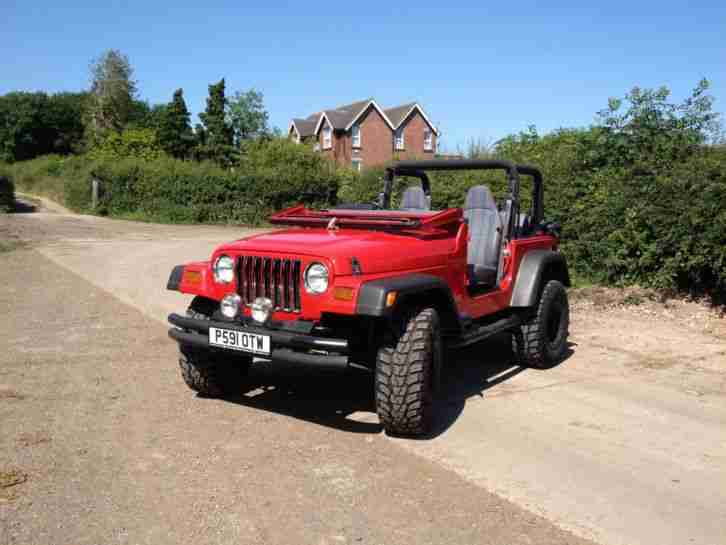 Jeep Wrangler TJ 4.0 4x4 Off Road Lift Axle 73,000 low miles