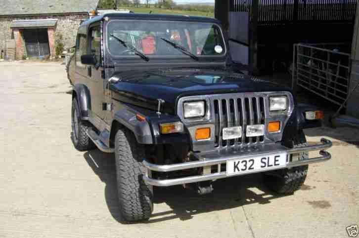 Jeep Wrangler yj 2.5l 1993. car for sale