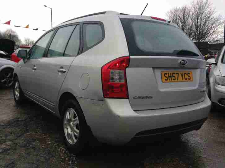 KIA CARENS 2.0 CRDI AUTO 7 SEATER (2007)- 1 FORMER KEEPER/ NO ADVISORYS ON MOT!!