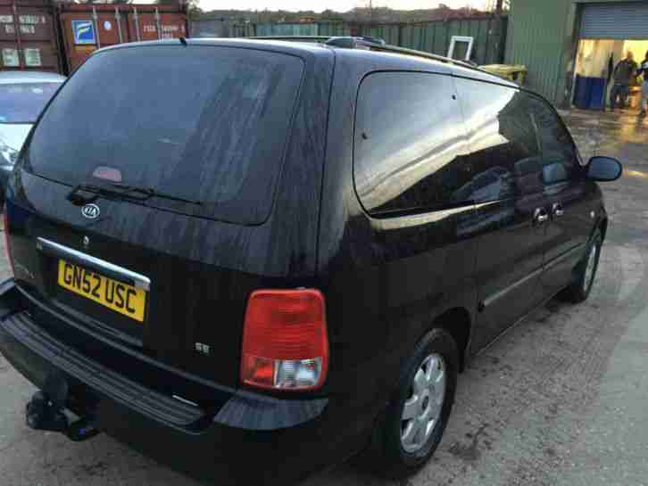Kia Sedona 2 9 Turbo Diesel Automatic Spares Or Repair 7