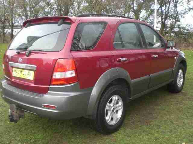 KIA SORENTO XS CRDI 2004 Diesel Automatic in Red