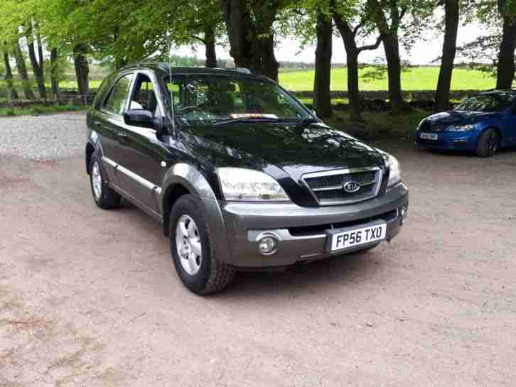 Kia Sorento 2006. Kia car from United Kingdom