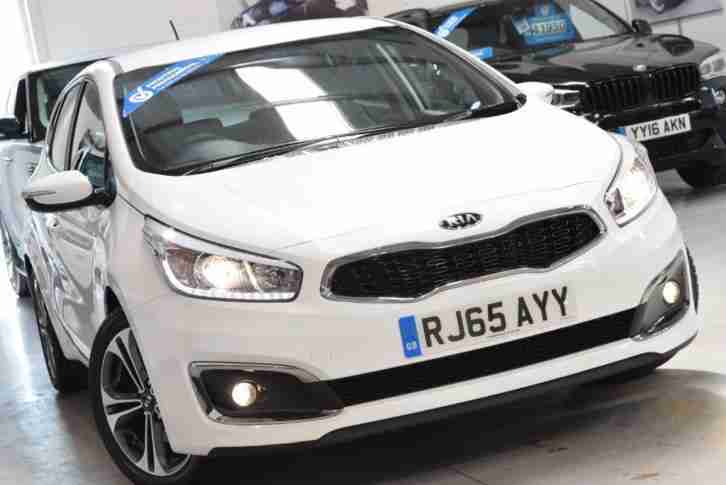 Kia Ceed CRDI. Kia car from United Kingdom